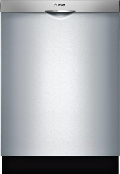 "Bosch 300 Series 24"" Scoop Handle Dishwasher"