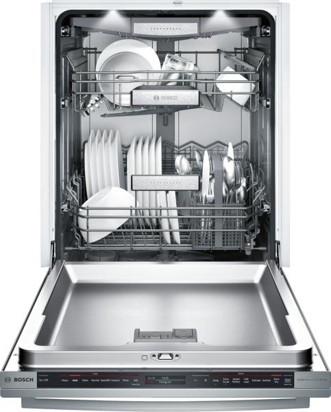 Model: SHX89PW75N | Bosch Benchmark® Bar Handle Dishwasher 24''