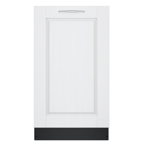 "Bosch 800 Series 18"" Custom Panel ADA-compliant  Dishwasher"