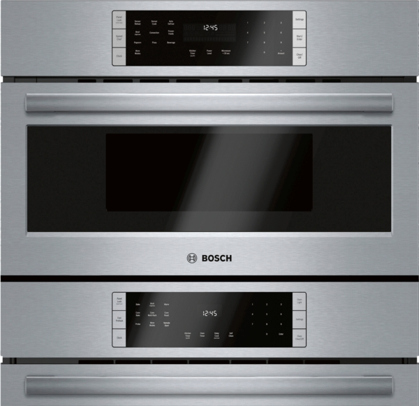 Model: HBL8753UC | Bosch 800 Series Combination Oven 30'' Stainless Steel