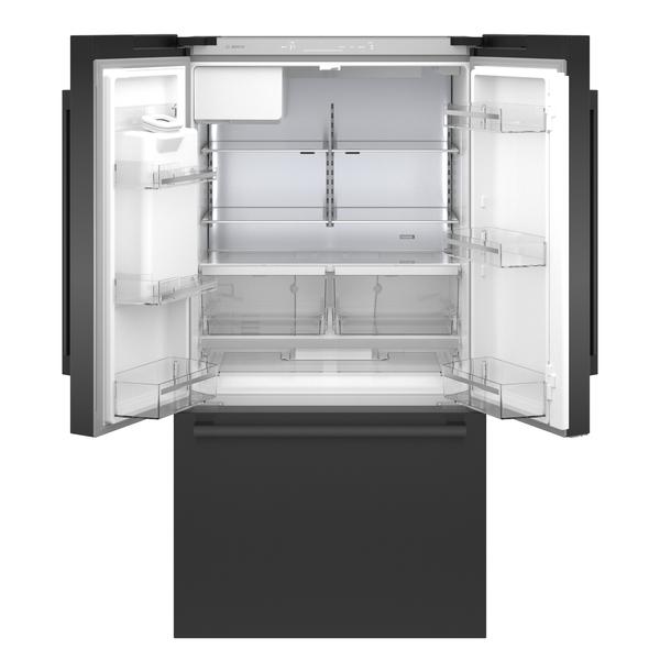 Model: B36CD50SNB | Bosch 500 Series French Door Bottom Mount Refrigerator 36''