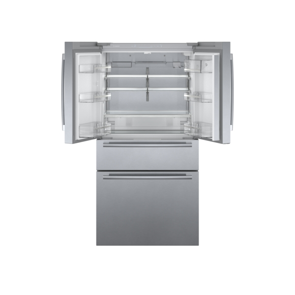 Model: B36CL80SNS | Bosch 800 Series Counter-Depth  French Door Bottom Mount Refrigerator 36''