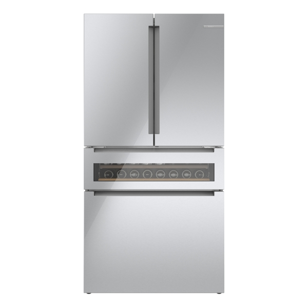 Bosch 800 Series French Door Bottom Mount Refrigerator 36'' Easy clean