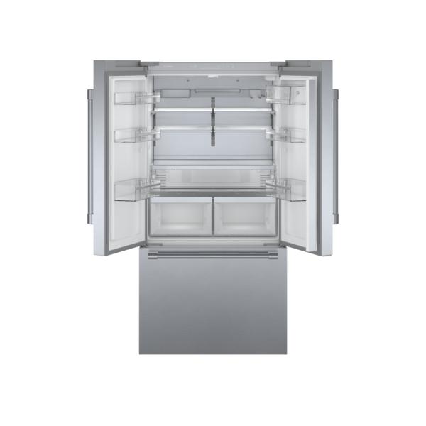 "Model: B36CT81SNS | Bosch 800 Series 36"" Counter-Depth French Door Bottom Mount Refrigerator"