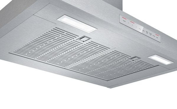 "Model: HCP50652UC | Bosch 500 Series 30"" Pyramid Canopy Chimney Hood"