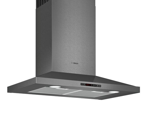 Bosch 800 Series Wall Hood 30'' Black stainless steel