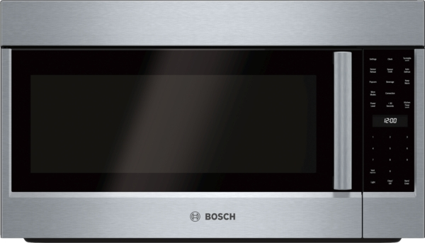 Bosch 800 Series Over-The-Range Convection Microwave 30'' Left SideOpening Door
