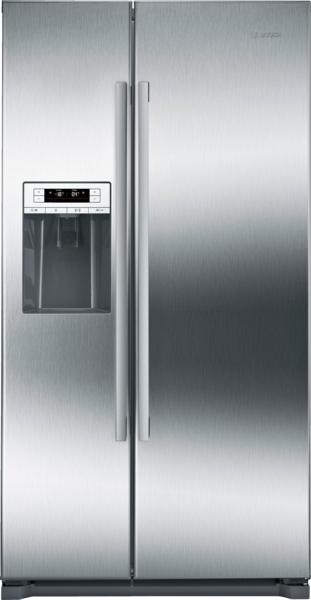 "Bosch 300 Series Freestanding Counter-Depth Side-by-Side 36"" Refrigerator"