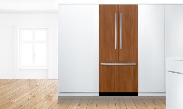 Bosch B36IT905NP, Built-in Bottom Freezer Refrigerator