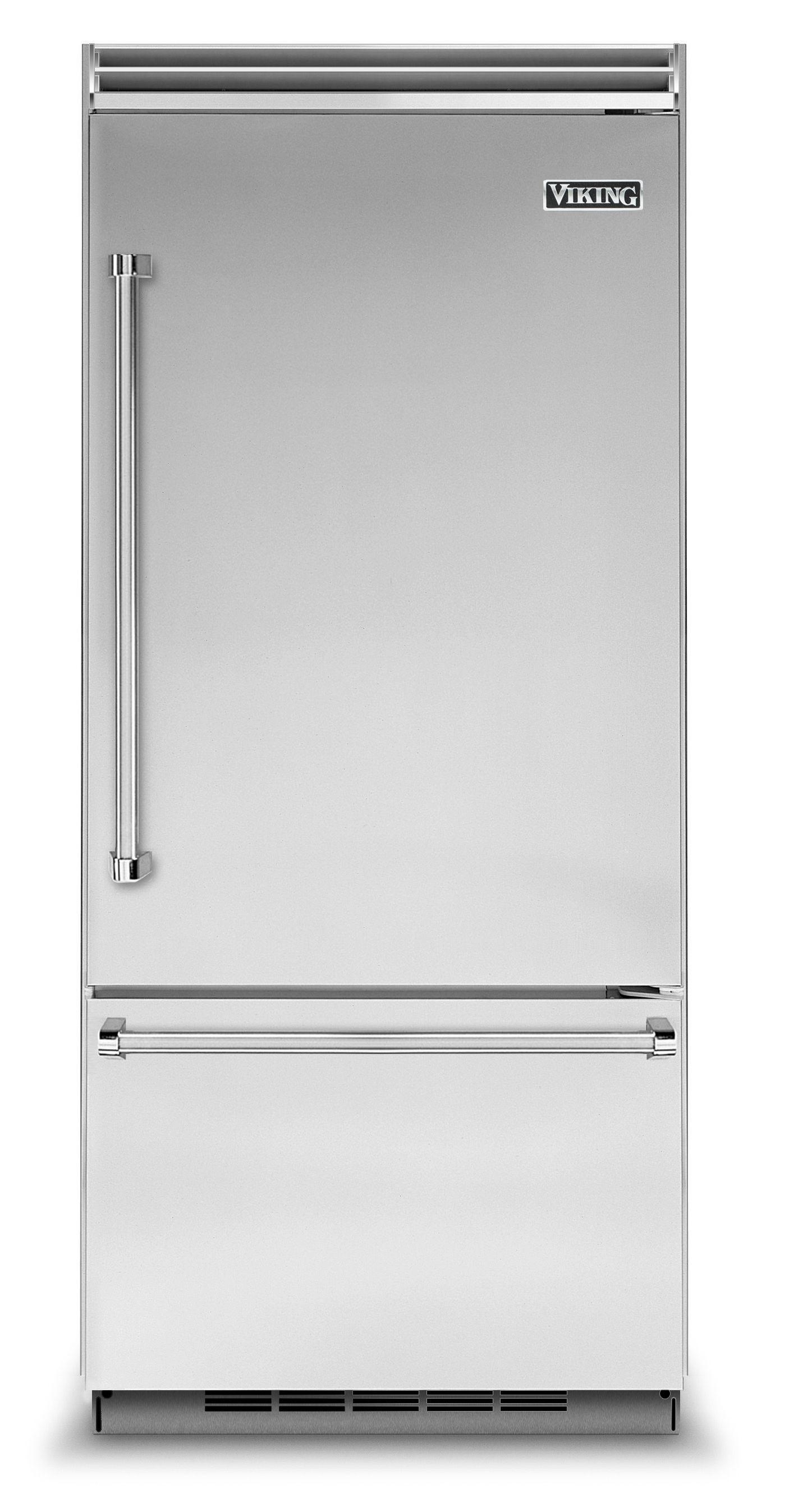"Viking 36""W. BI Bottom-Mount Refrigerator/Freezer (RH)-Stainless"