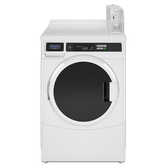 """Model: CHW9160GW   Whirlpool 27"""" Commercial High-Efficiency Energy Star-Qualified Front-Load Washer, Non-Vend"""