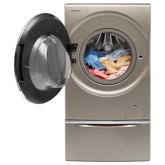 Model: WFC8090GX | Whirlpool 2.8 cu. ft. Smart All-In-One Washer & Dryer