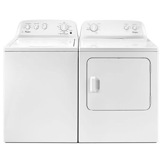 Model: WTW4616FW | Whirlpool 3.5 cu. ft. Top Load Washer with the Deep Water Wash Option