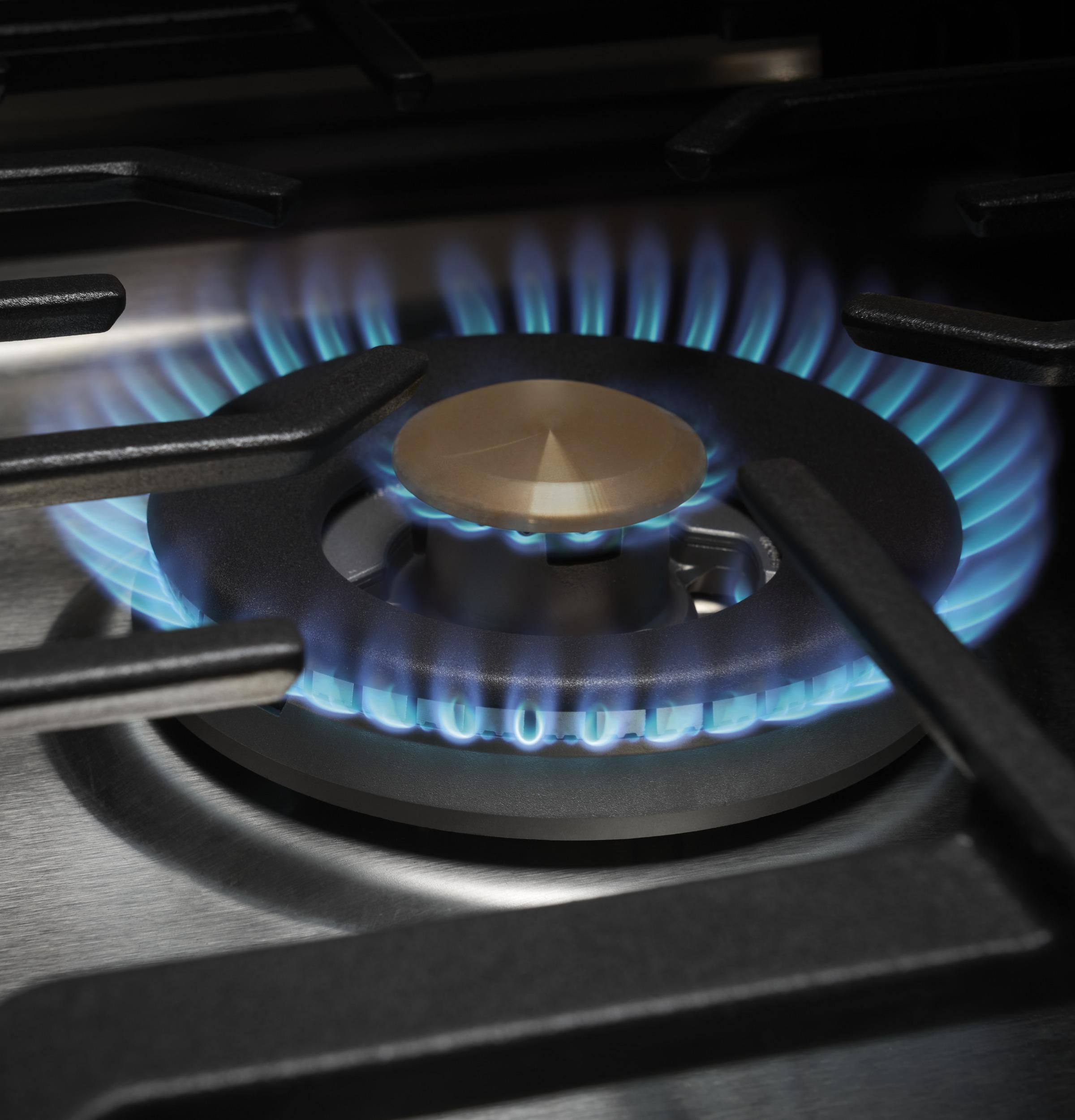 "Model: ZGU30RSLSS | Monogram Monogram 30"" Deep-Recessed Gas Cooktop (Natural Gas)"