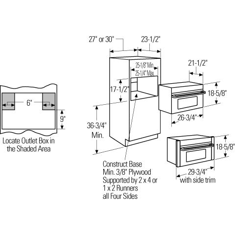 Model: ZSC1001JSS | Monogram Monogram Built-In Oven with Advantium® Speedcook Technology- 120V