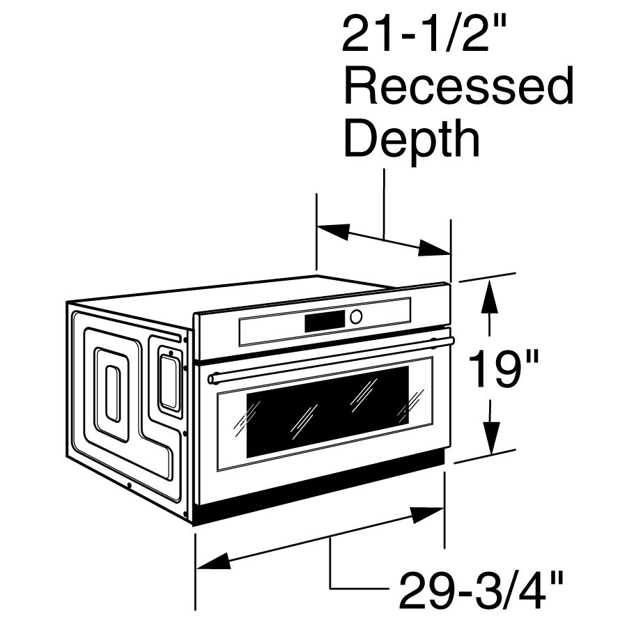 Model: ZSC1202JSS | Monogram Monogram Built-In Oven with Advantium® Speedcook Technology- 120V