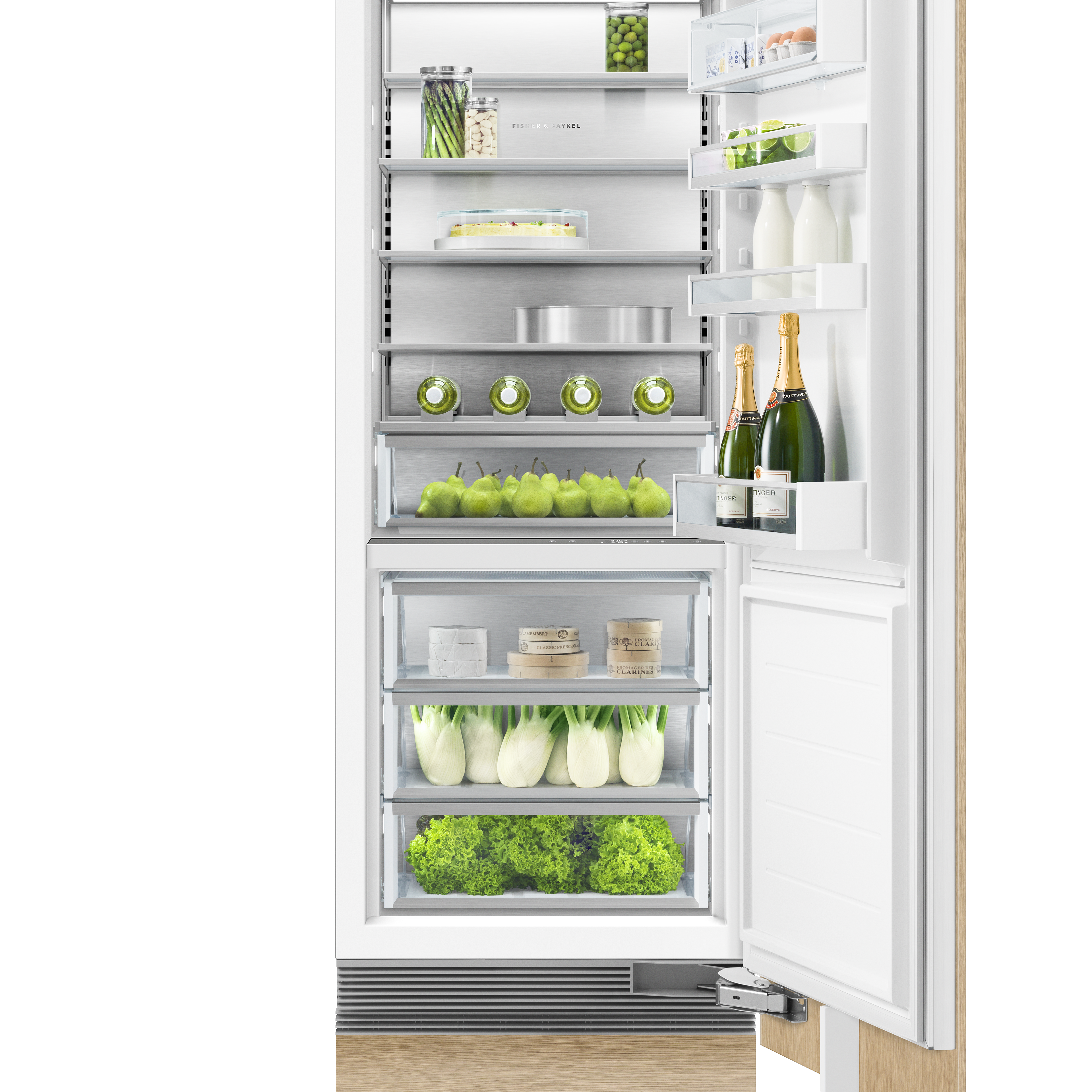 """Fisher and Paykel Integrated Column Refrigerator, 30"""", Water"""