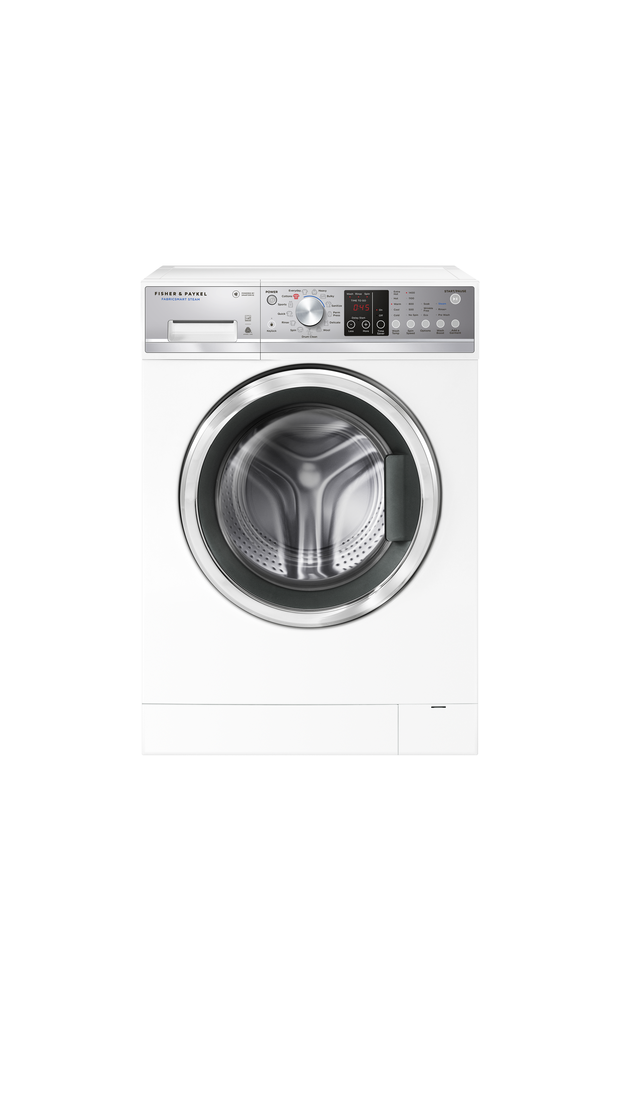 Fisher and Paykel Front Load Washer, 2.4 cu ft, Time Saver
