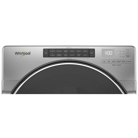 Model: WED6620HC   Whirlpool 7.4 cu. ft. Front Load Electric Dryer with Steam Cycles