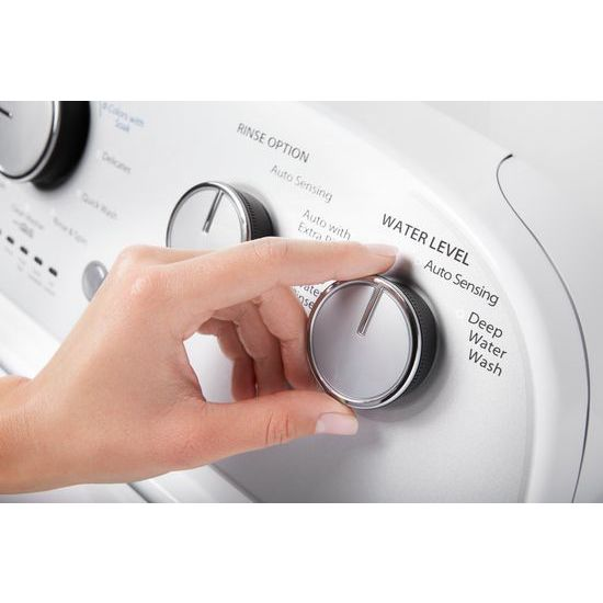 Model: WTW4950HW | Whirlpool 3.9 cu. ft. Top Load Washer with Soaking Cycles, 12 Cycles