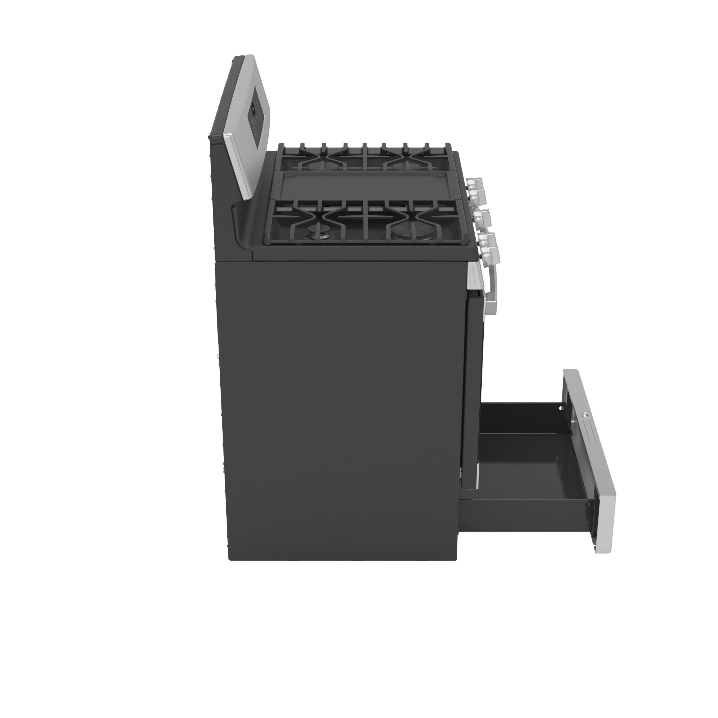 """Model: JGB735SPSS   GE GE® 30"""" Free-Standing Gas Convection Range with No Preheat Air Fry"""