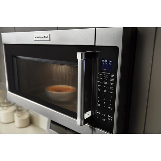 "Model: KMHS120ESS | KitchenAid 30"" 1000-Watt Microwave Hood Combination"
