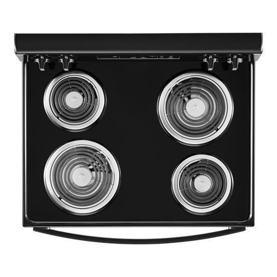 Model: WFC150M0JB | Whirlpool 4.8 cu. ft. Whirlpool®electric range with Keep Warm setting