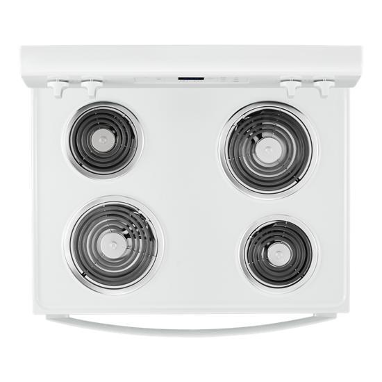 Model: WFC150M0JW | Whirlpool 4.8 cu. ft. Whirlpool®electric range with Keep Warm setting