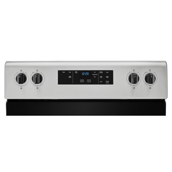 Model: WFC315S0JS   Whirlpool 4.8 cu. ft. Whirlpool®electric range with Keep Warm setting