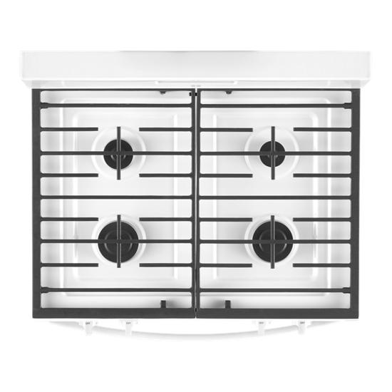 Model: WFG515S0JW | Whirlpool 5.0 cu. ft. Whirlpool® gas range with SpeedHeat™ burner
