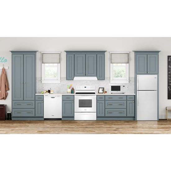 Model: WFG550S0HW | Whirlpool 5.0 cu. ft. Whirlpool® gas convection oven with Frozen Bake™ technology