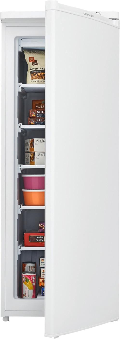 Model: FFUM0623AW | Frigidaire 6 Cu. Ft. Upright Freezer