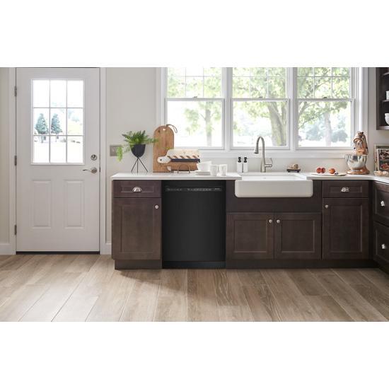 Model: KDFE104KBL | KitchenAid 47 dBA Two-Rack Dishwasher with ProWash™ Cycle