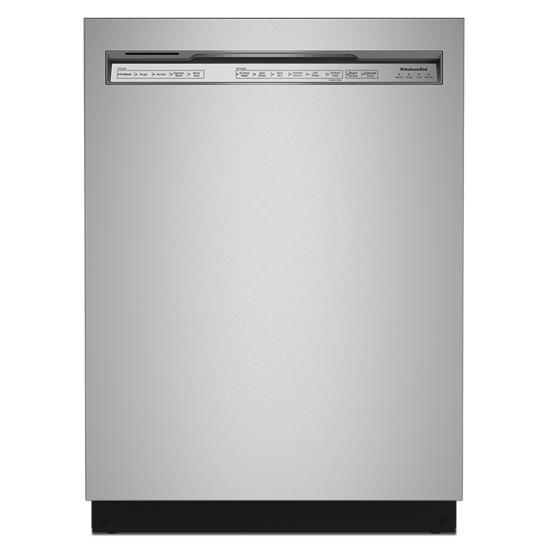 KitchenAid 47 dBA Two-Rack Dishwasher in PrintShield™ Finish with ProWash™ Cycle