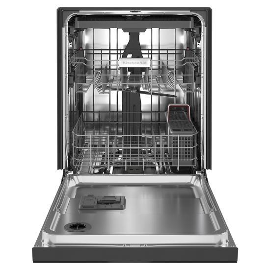 Model: KDFE204KBL   KitchenAid 39 dBA Dishwasher with Third Level Utensil Rack