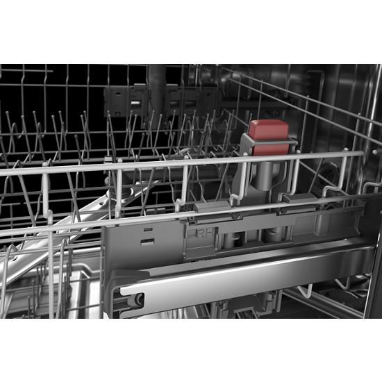 Model: KDPM604KBS | KitchenAid 44 dBA Dishwasher in PrintShield™ Finish with FreeFlex™ Third Rack