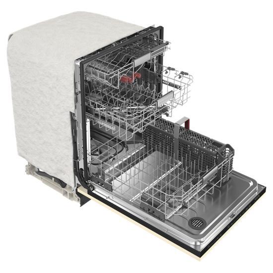 Model: KDTM704LPA | KitchenAid 44 dBA Panel-Ready Dishwasher with FreeFlex™ Third Rack