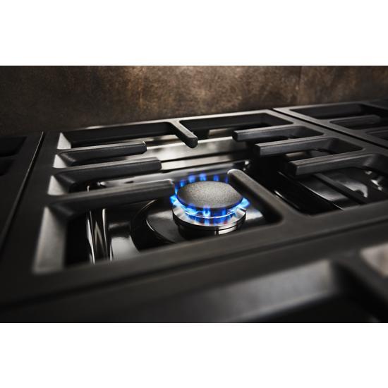 Model: KFDC558JYP | KitchenAid KitchenAid® 48'' Smart Commercial-Style Dual Fuel Range with Griddle