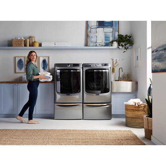 Model: MHW8630HC | Maytag Smart Front Load Washer with Extra Power and 24-Hr Fresh Hold® option - 5.0 cu. ft.