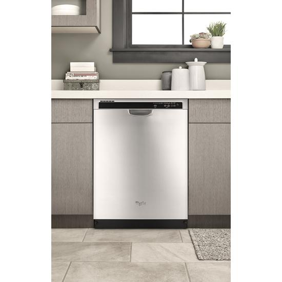 Model: WDF540PADM | Whirlpool ENERGY STAR® certified dishwasher with Sensor cycle