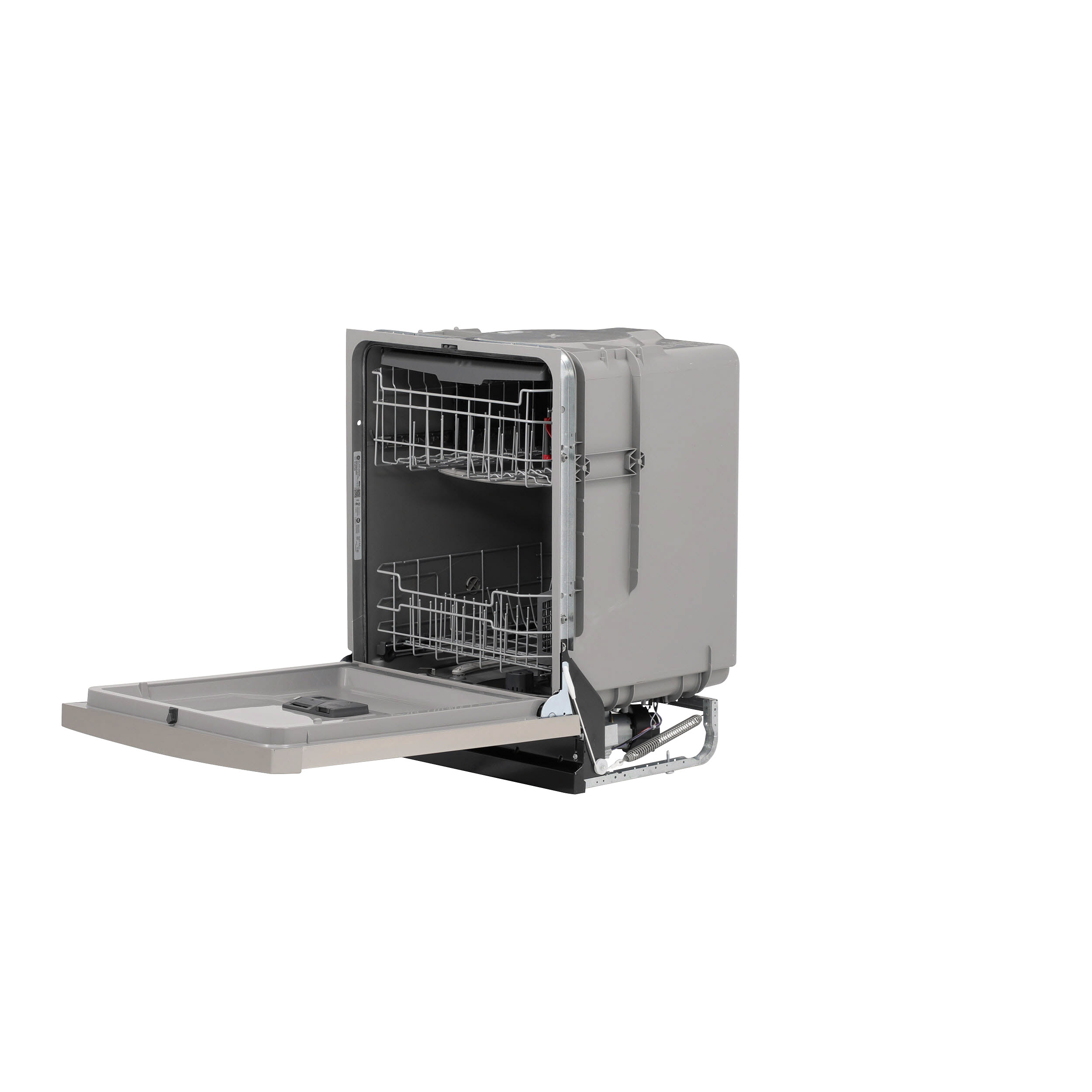 Model: GDF630PSMSS | GE GE® Front Control with Plastic Interior Dishwasher with Sanitize Cycle & Dry Boost