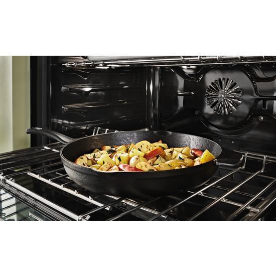 Model: KFDC558JSS   KitchenAid KitchenAid® 48'' Smart Commercial-Style Dual Fuel Range with Griddle