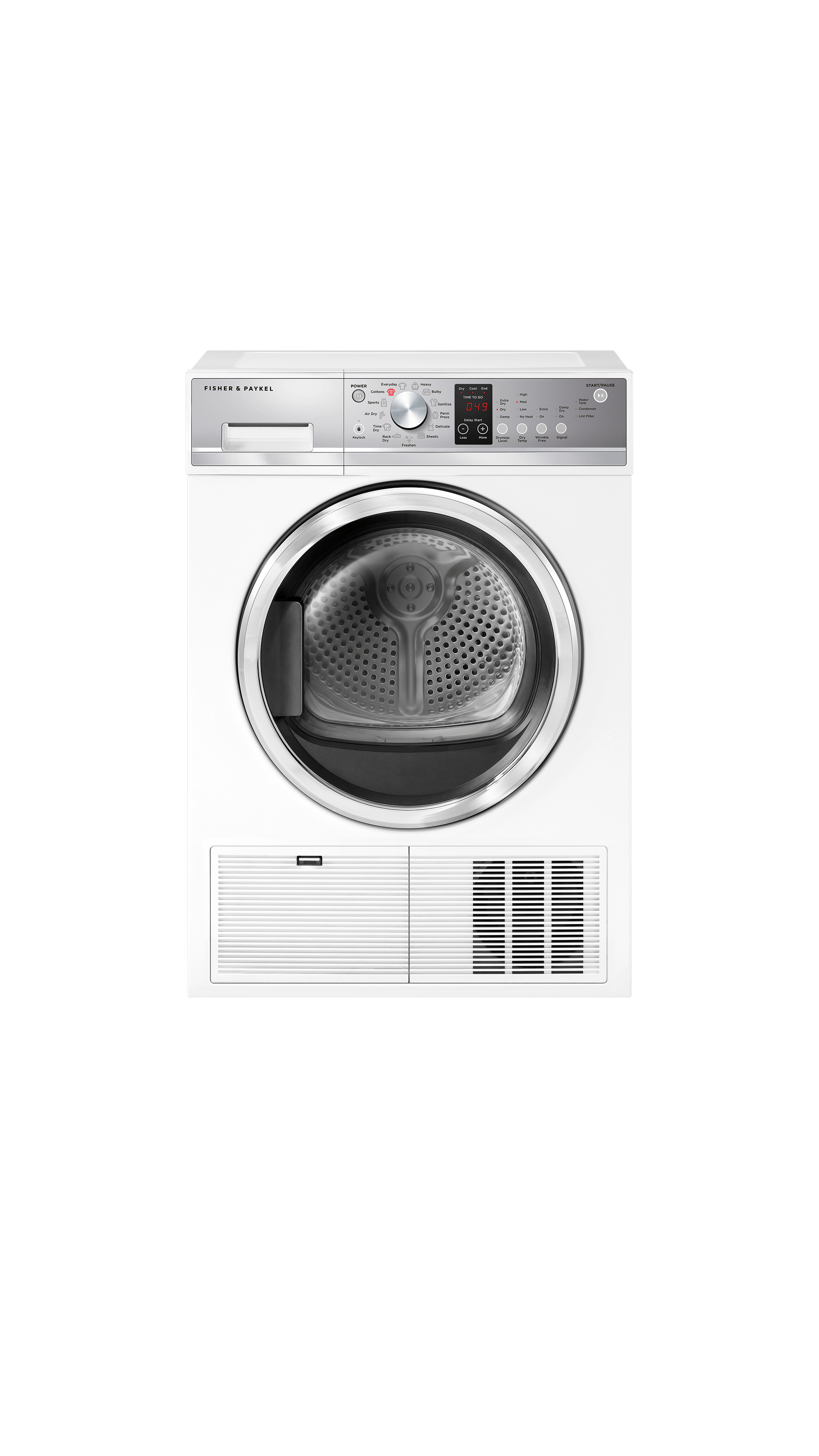 Fisher and Paykel Condensing Dryer, 4.0 cu ft