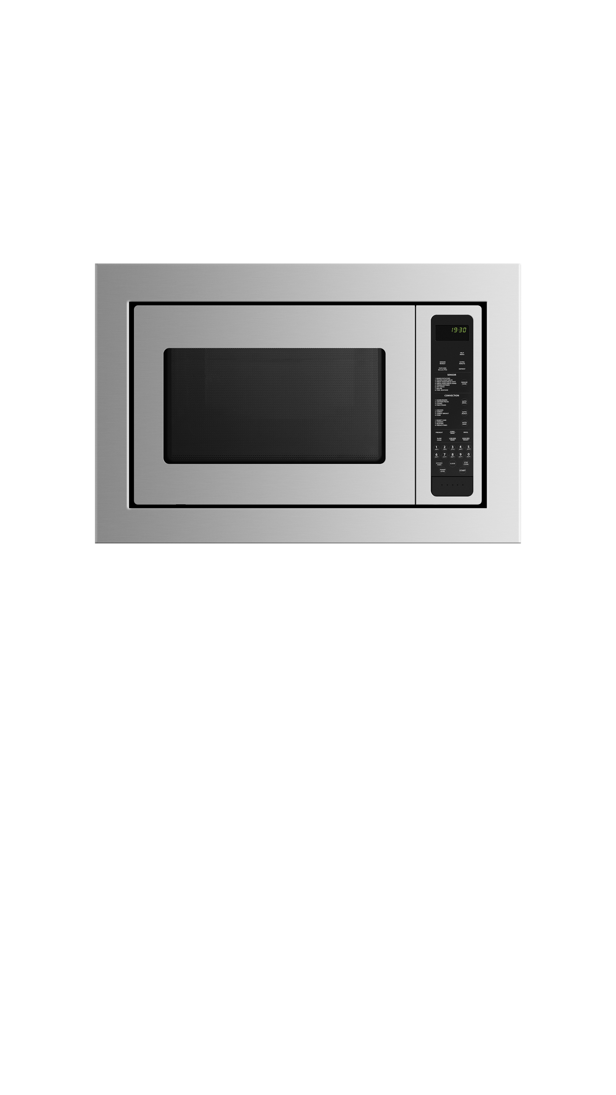 """Fisher and Paykel Combination Microwave Oven, 24"""""""