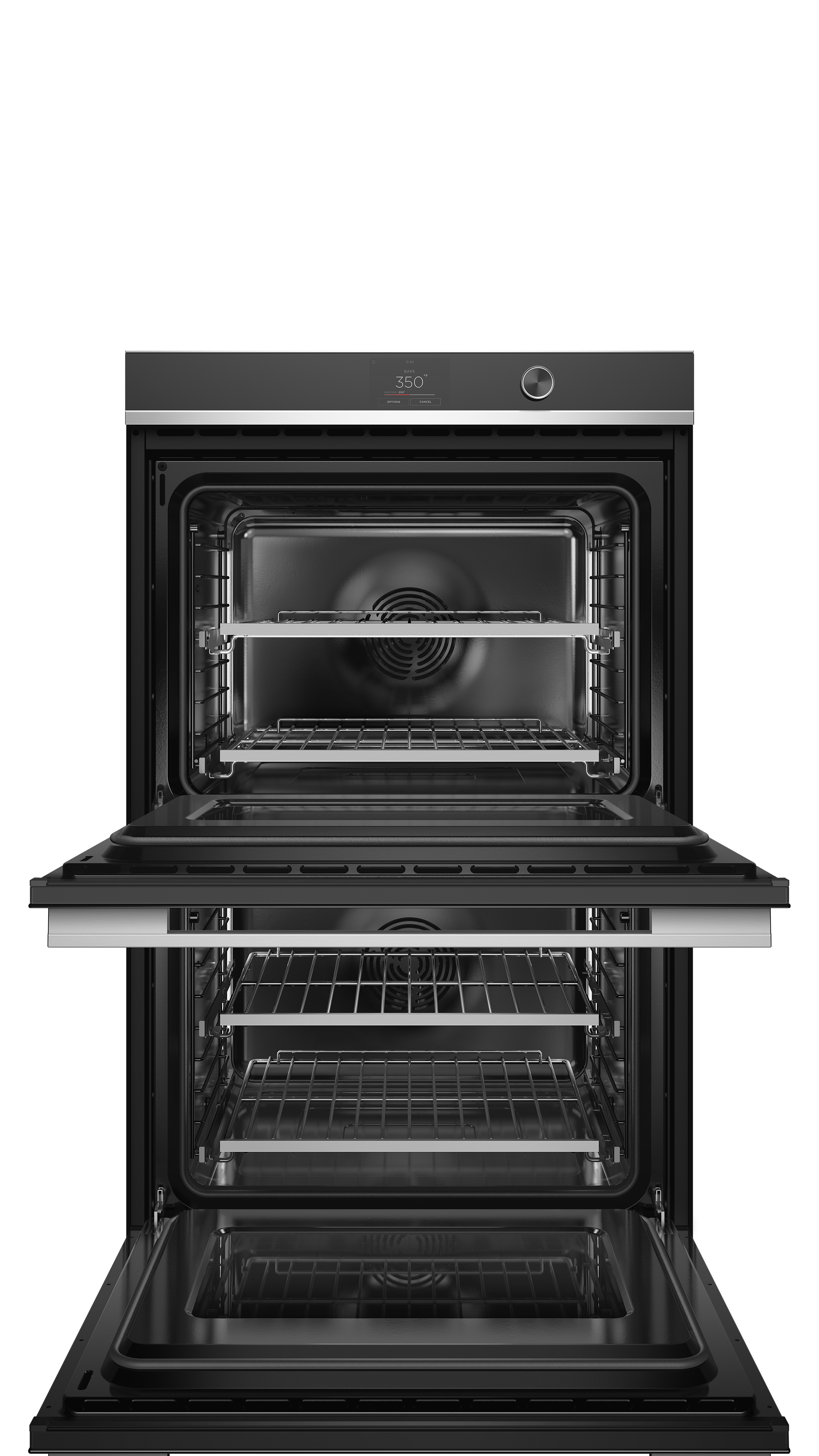 """Fisher and Paykel Double Oven, 30"""", 17 Function, Self-cleaning"""