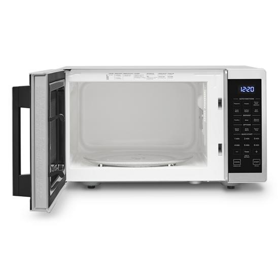 Model: WMC30309LS   Whirlpool 0.9 Cu. Ft. Capacity Countertop Microwave with 900 Watt Cooking Power