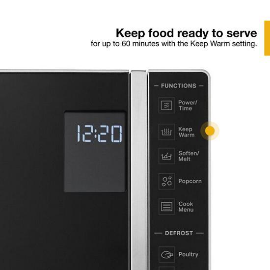 Model: WMC30311LD | Whirlpool 1.1 Cu. Ft. Capacity Countertop Microwave with 900 Watt Cooking Power