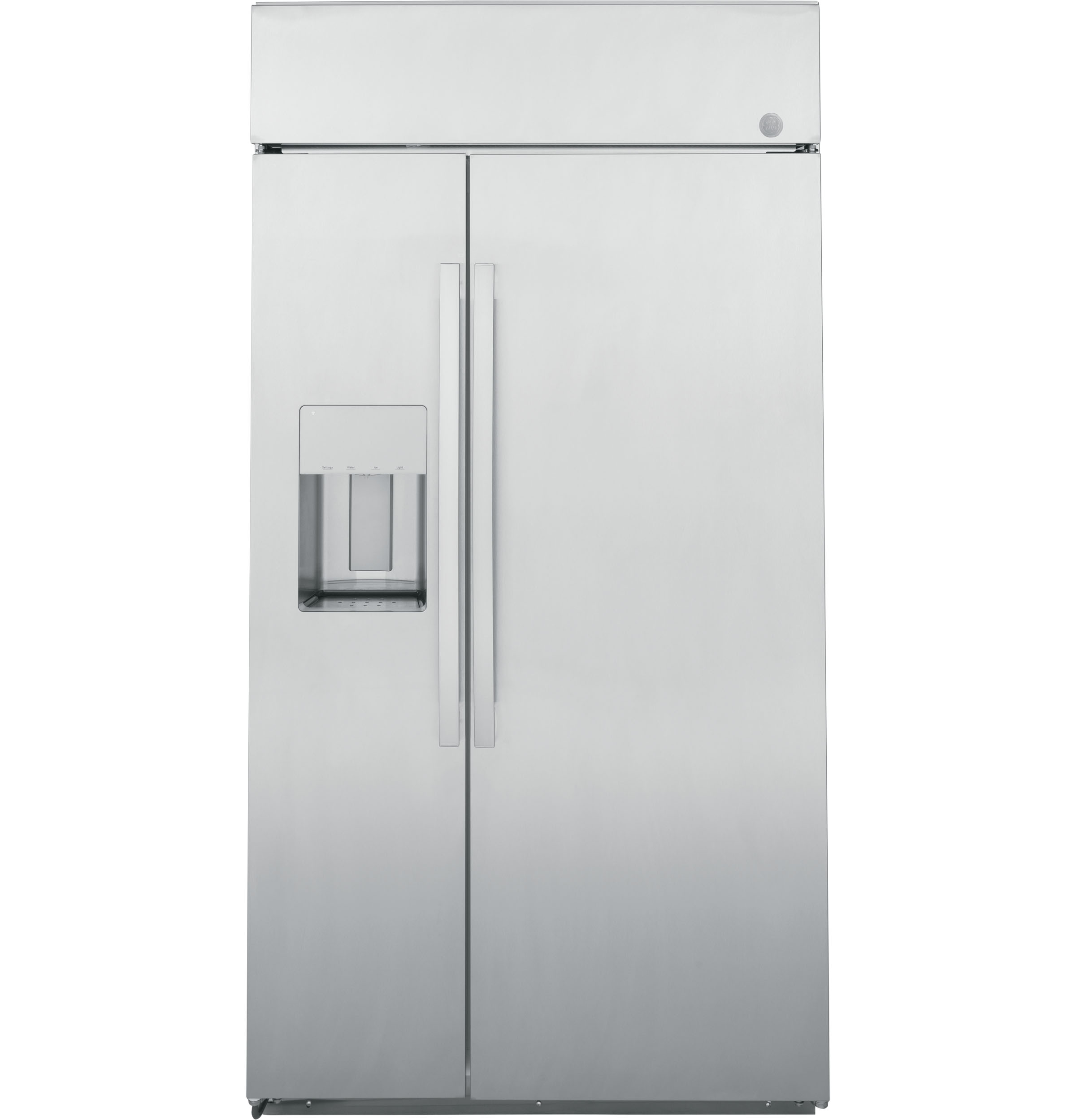 """GE Profile GE Profile™ Series 48"""" Smart Built-In Side-by-Side Refrigerator with Dispenser"""