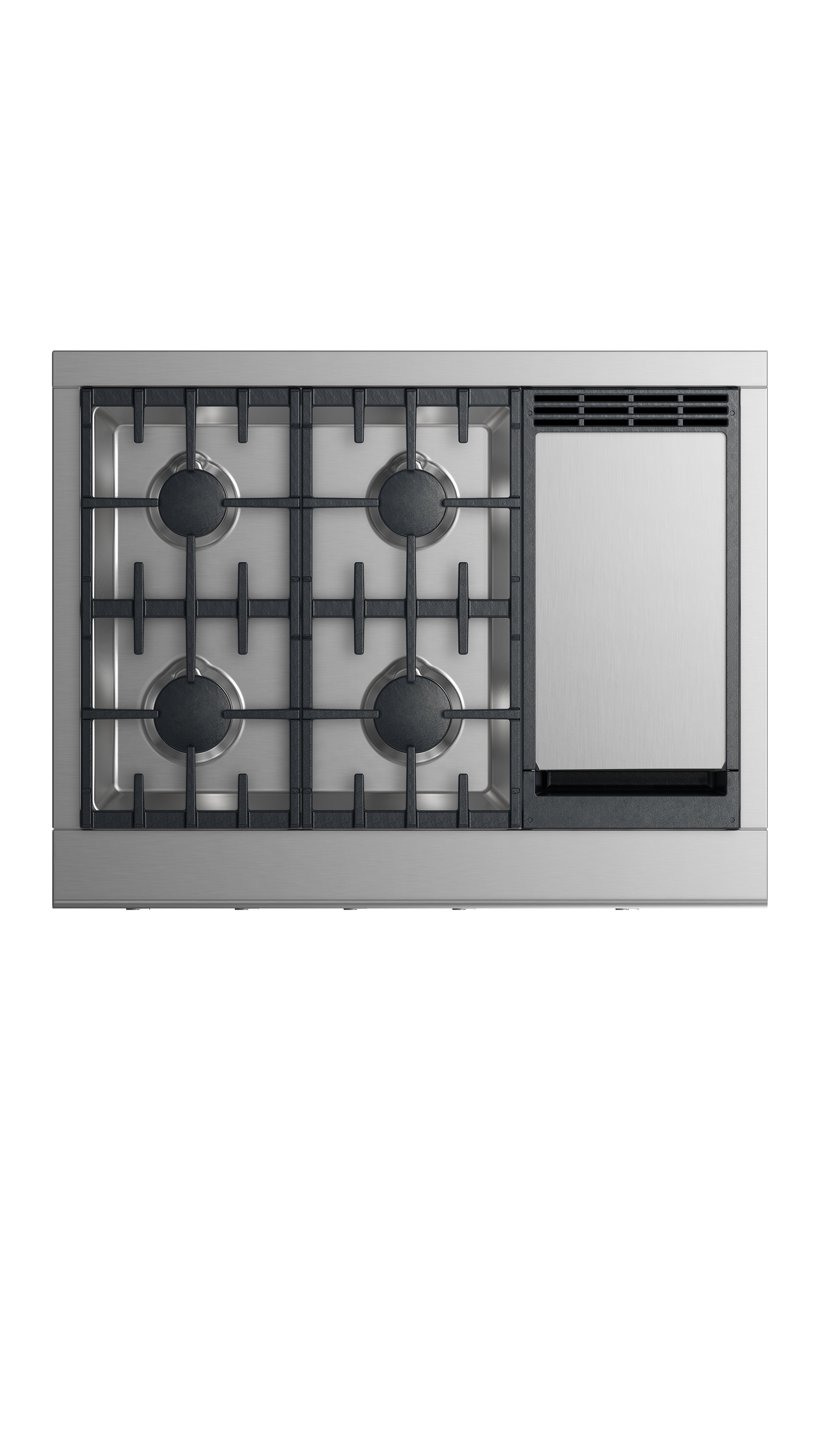 """Fisher and Paykel Gas Rangetop, 36"""", Griddle"""