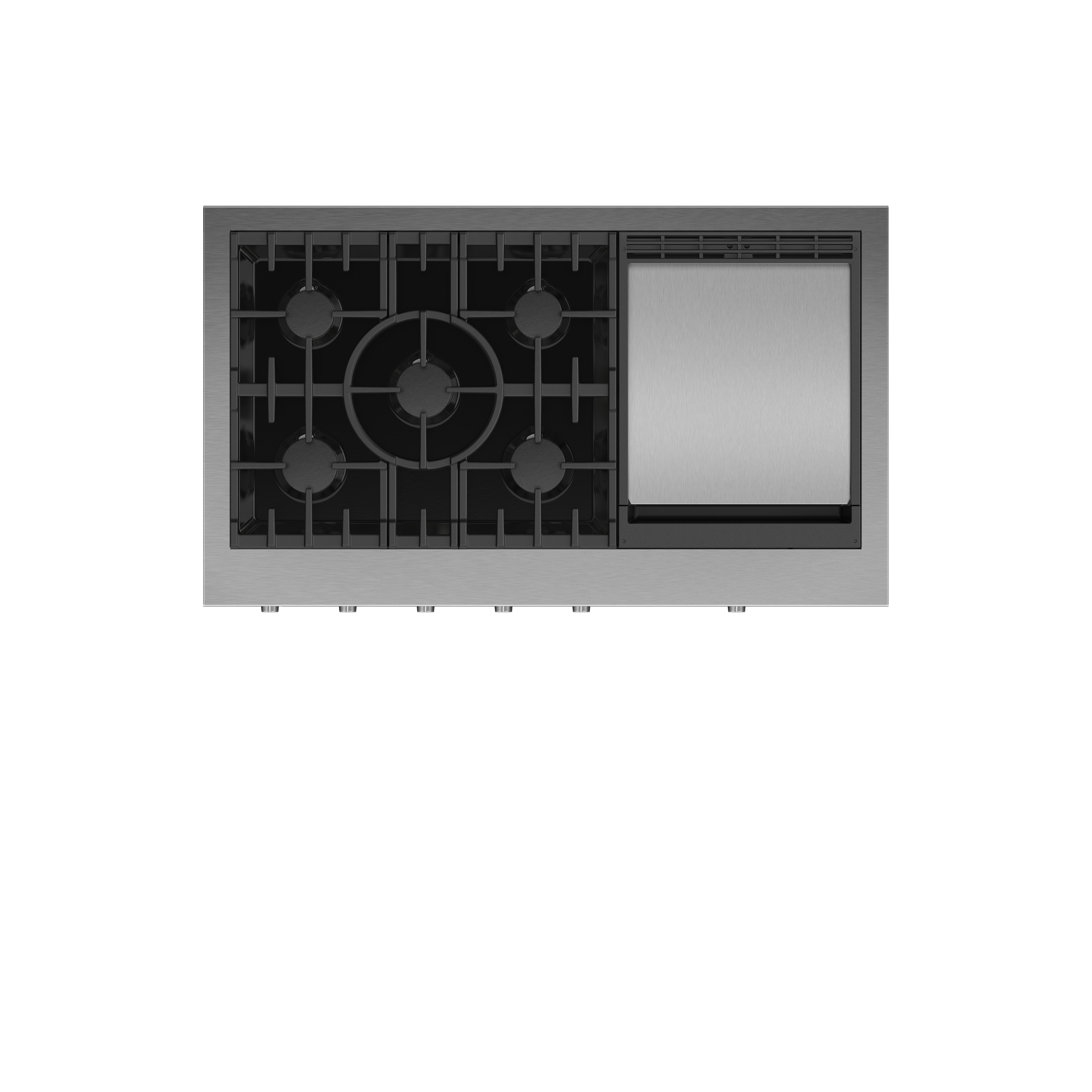 """Fisher and Paykel Gas Rangetop, 48"""", Griddle, LPG"""